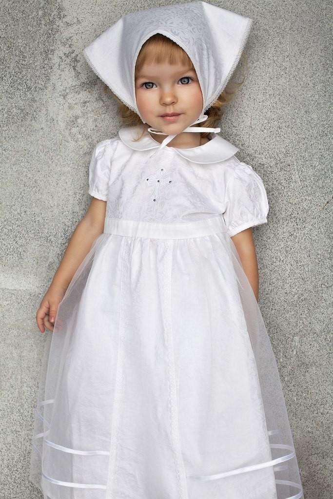 Крестильная платье для девочки своими руками 4